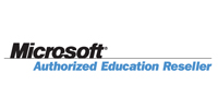 Logo Offizieller Microsoft Education Reseller
